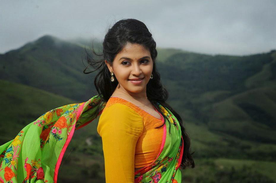 Actor Anjali Photos: OnLy AcTrEsS: Anjali Latest Navel Show Half Saree Photos HD
