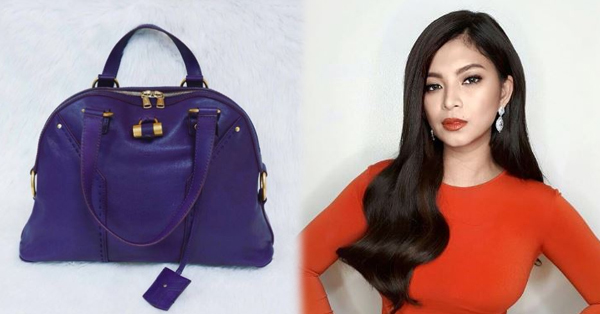 Metro Magazine Helps Angel Locsin In Selling Her Saint Laurent Handbag To Raise Funds!