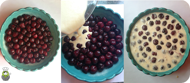 receta de tarta de cerezas
