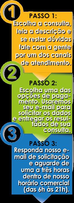 Consulta em 3 Passos