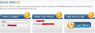 Direct Web Call Now! best trik nelpon