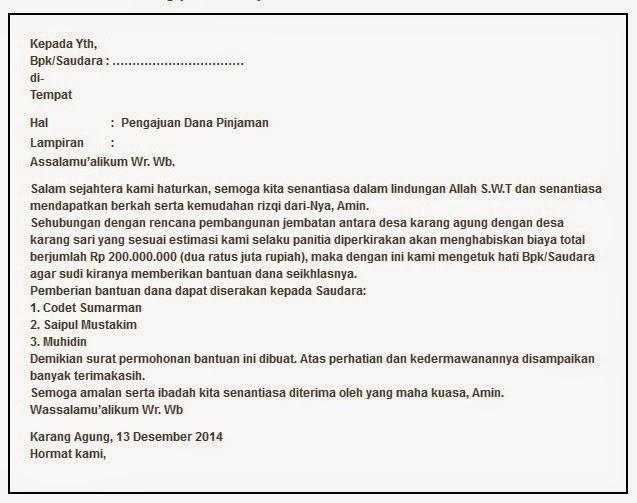 Contoh Surat Pengajuan Permohonan 2019 Januari 2019 Pendaftaran