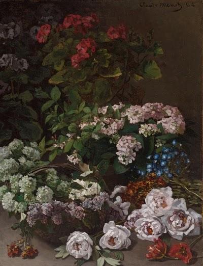 Flores de Primavera (1864) - Spring Flowers - Monet