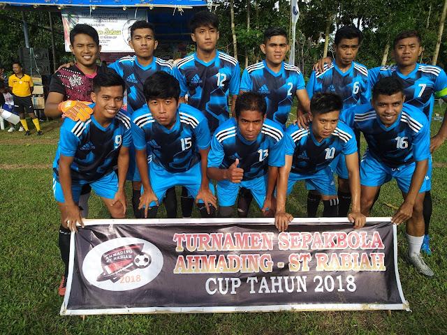 Sejumlah Pemain dari Luar Bone Berlaga di Turnamen Ahmading-ST Rabiah Cup 2018