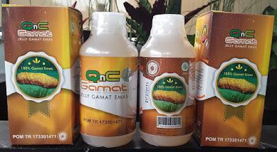 Agen Resmi QnC Jelly Gamat Pangkal Pinang Bangka Belitung