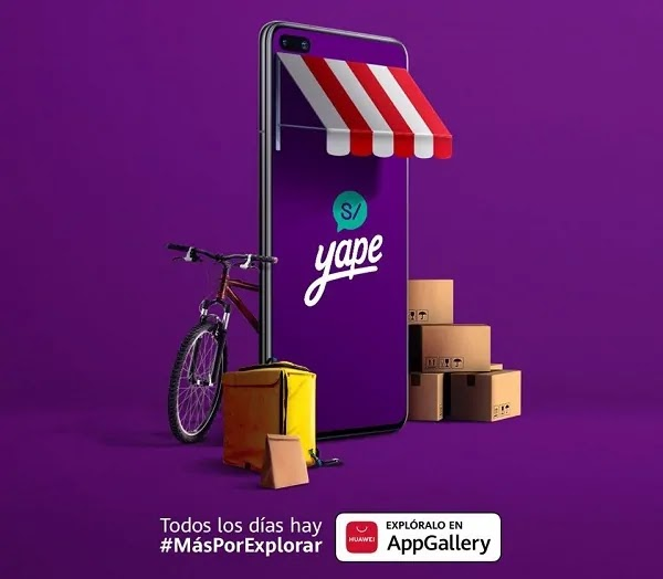 YAPE DISPONIBLE HUAWEI APPGALLERY