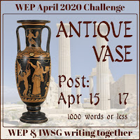 JOIN WEP FOR  APRIL 2020! OUR CHALLENGE, ANTIQUE VASE.