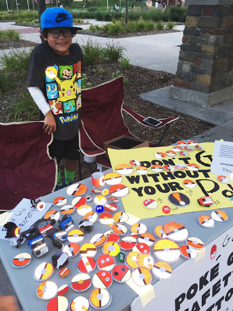 This 7-Year-Old Who Makes Safety Glow Buttons To Keep Pokemon Go Players Safe