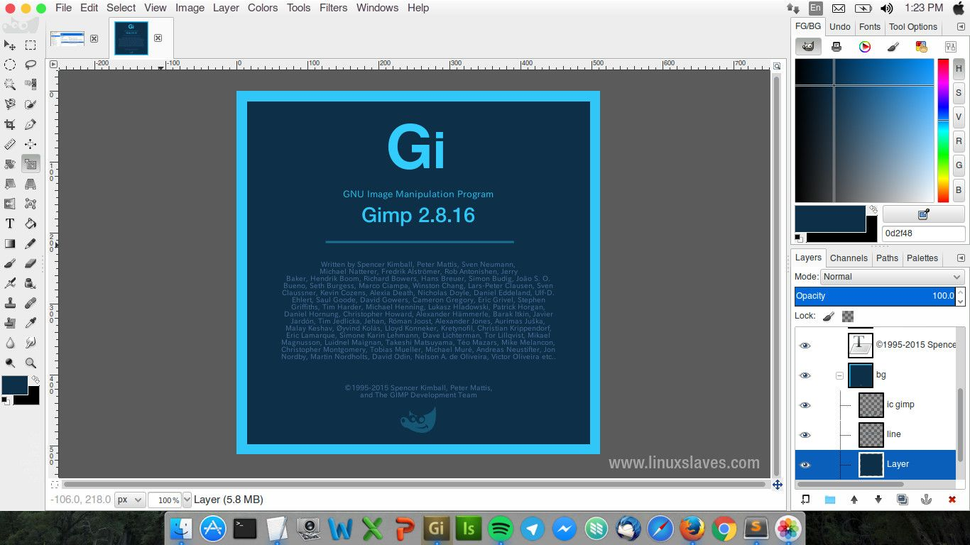 4 themes that will make gimp 2 8 look and work like photoshop rh linuxslaves com GIMP Tutorials gimp user manual download mac
