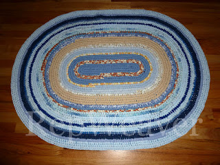 Toothbrush Rug by RepWeaver