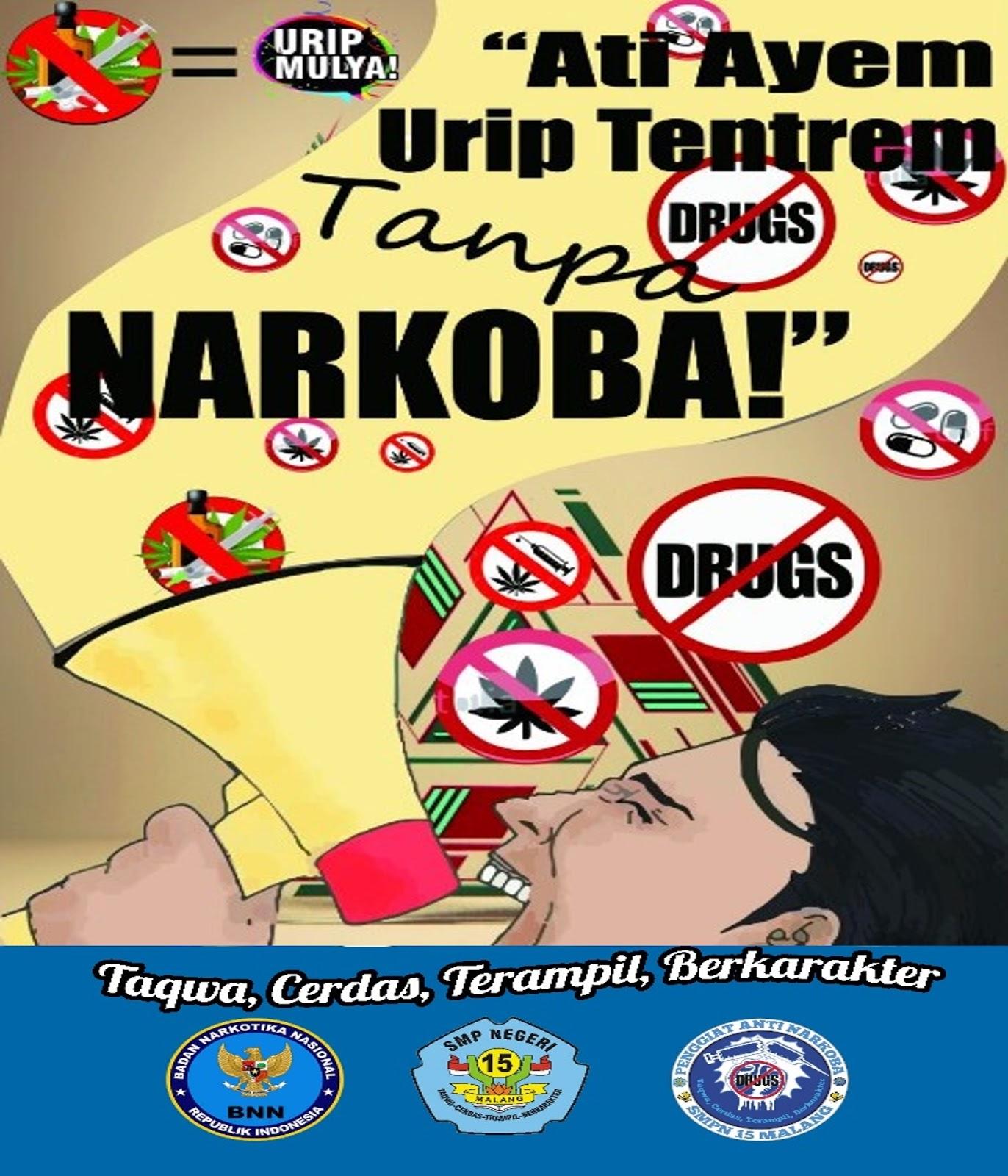 Contoh Poster Larangan Narkoba Eye Candy Photograph