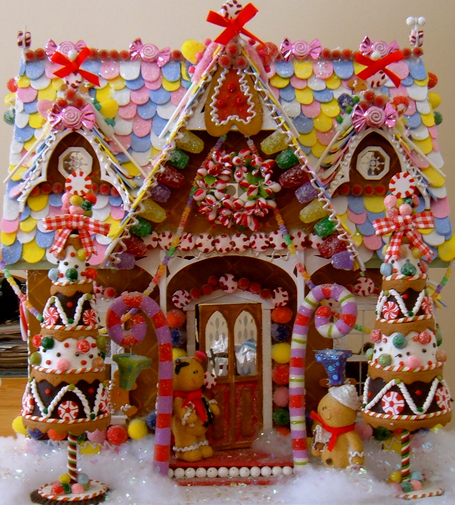 Wednesday S Child Gingerbread House Redux