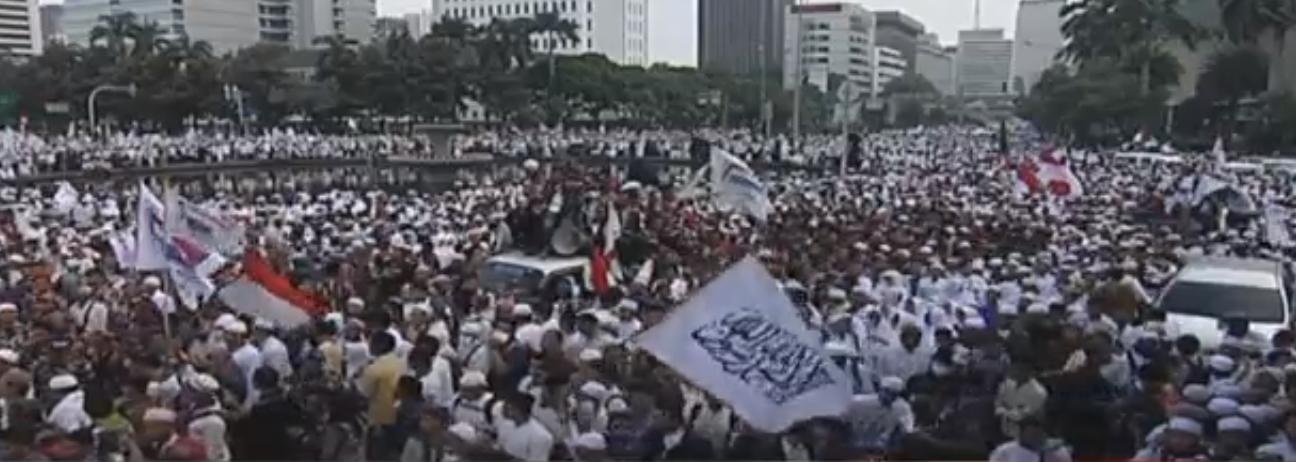 Kabar Terkini Aksi Bela Islam : Masa Terus Berdatangan Dari Berbagai Daerah