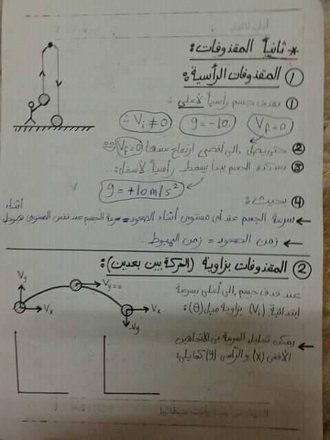 مراجعة فيزياء اولي ثانوي.. تطبيقات علي الحركه بعجله منتظمه 8