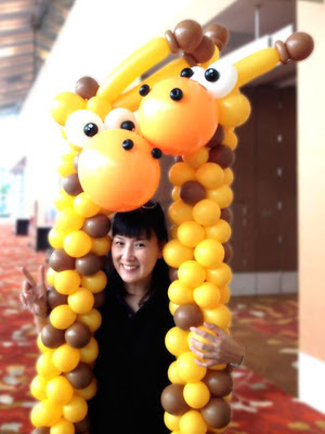 Very Best Balloon Blog Lily Tan