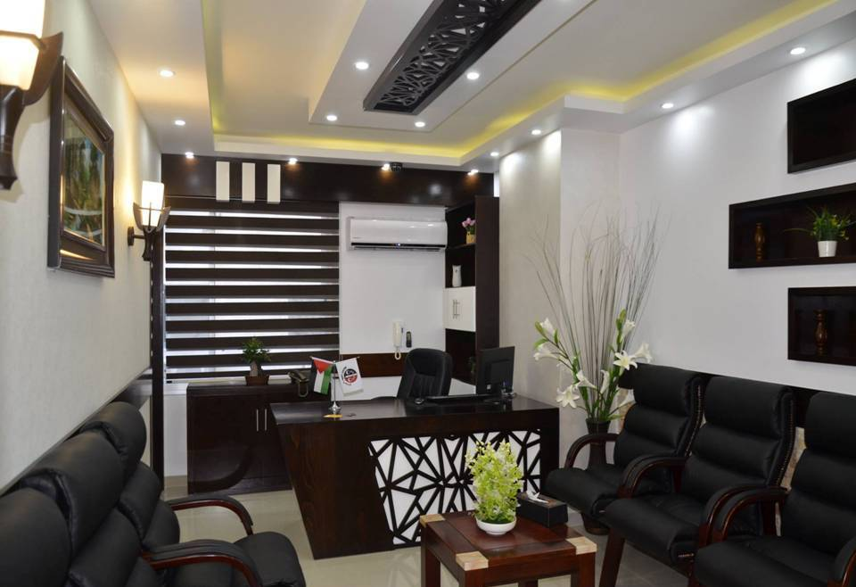 Luxury Interior Office With Cnc Wood Design Dwell Of Decor