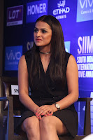 Actress Shraddha Srinath Stills in Black Short Dress at SIIMA Short Film Awards 2017 .COM 0045.JPG
