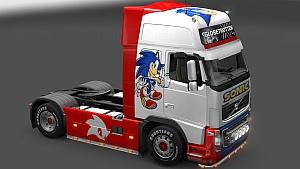 Sonic skin for Volvo 2009