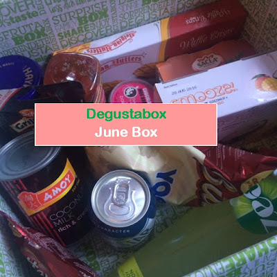 Degustabox, Food, Drink, Monthly Subscription, Fdbloggers, Unboxing
