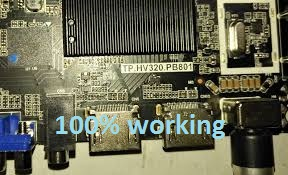 LED AND LCD FIRMWARE: HOW TO DOWNLOAD TP HV320 PB801