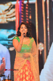 Singer Manisha Eeraini Stills in Half Saree at Nenu Local Audio Launch  0004.JPG