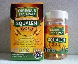 Jual Minyak Ikan / Fish Oil Gold Omega 3 Plus