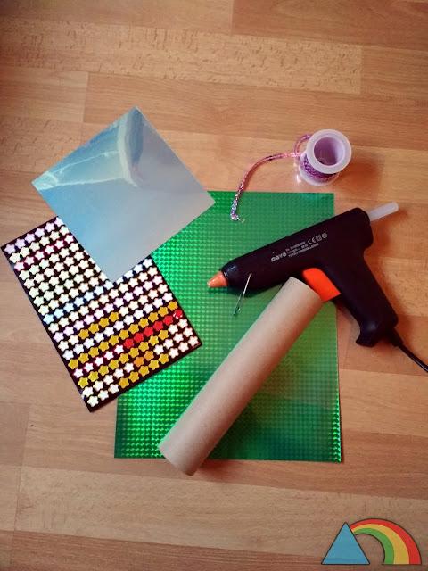 Materiales para hacer un caleidoscopio casero