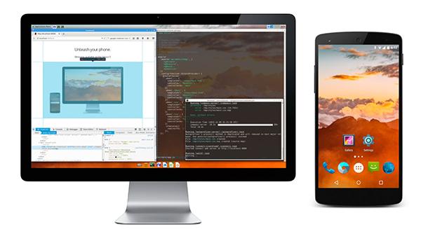 maruos :روم اندرويد جديدة تتحول إلى توزيعة debian بمجرد ربط الهاتف مع حاسوب