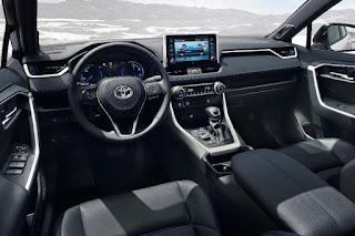 Toyota RAV4 (2019) Dashboard