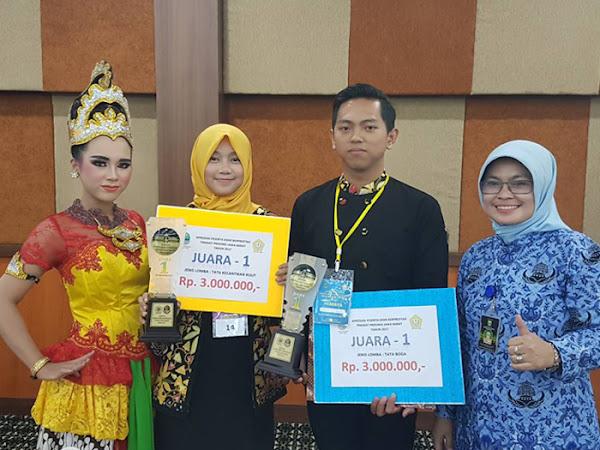 Kota Bandung Raih Juara Umum Apresiasi Peserta Didik Kursus Berprestasi