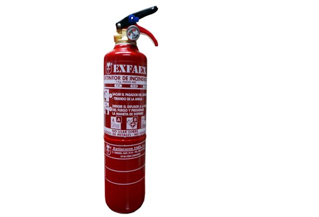 Extintores en Madrid, extintor P1-1 exfire, paracuellos del jarama