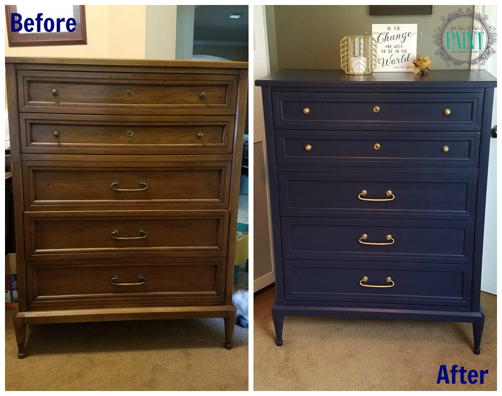 For Love of the Paint: Before and After : Mid Century ...