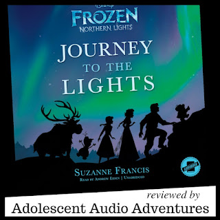 Adolescent Audio Adventures review of Frozen Northern Lights: Journey to the Lights audiobook