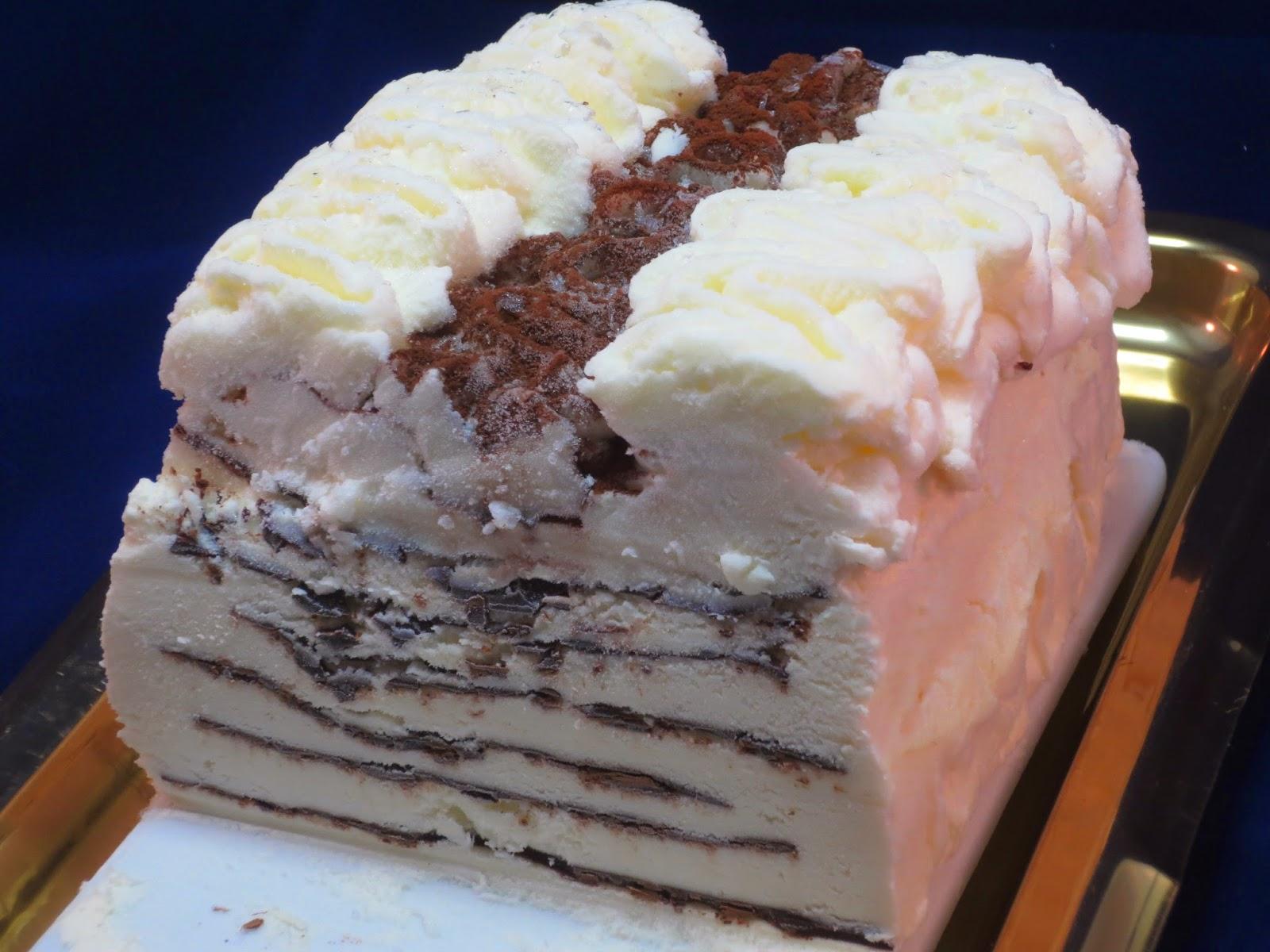 Tarta helada Contessa con Thermomix