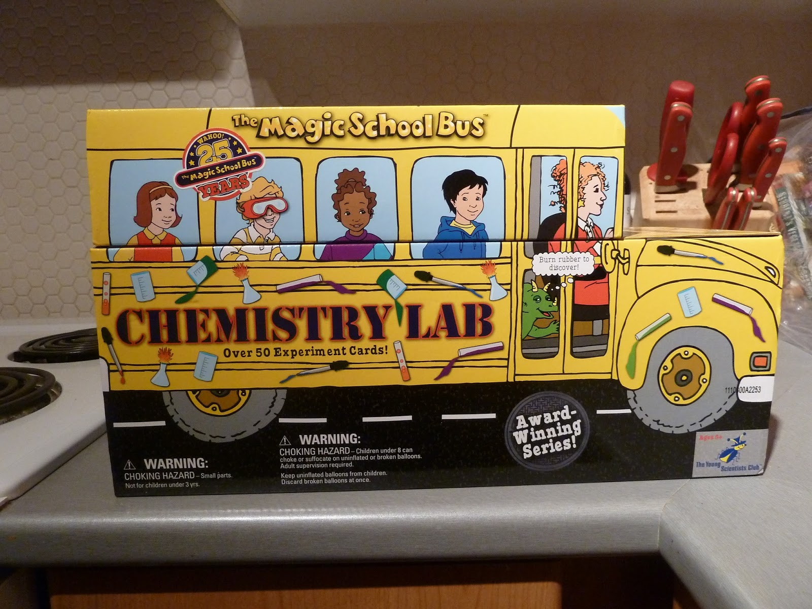 Chickadee S Learning Tree Chemistry With The Magic School Bus