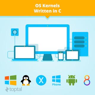 OS Kernels Written in C