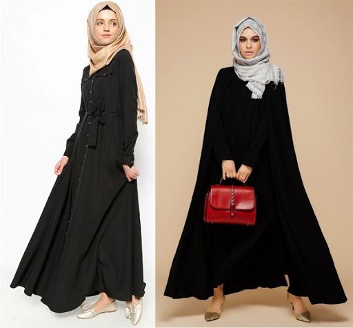 Model Baju Muslim Wanita Modis Elegan Terbaru 2017/2018