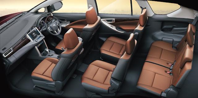 Toyota Innova 2016 sẽ có màu nội thất mới thay vì màu kem như phiên bản trước