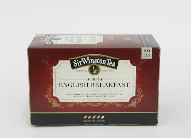 Disfrutabox marzo 2016 Sir Winston Tea English