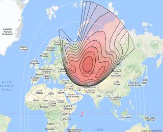 Satelit Kazsat 3 58.5°E KUBand