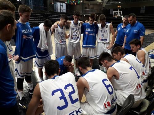 ΕΟΚ | Εθνική Παίδων: Ελλάδα-Ρωσία 81-70 (Διεθνές τουρνουά Νόβι Σαντ)