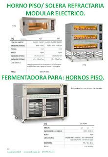 Hornos de Pisos ó Solera refractaria, Fermentadoras para hornos modulares.