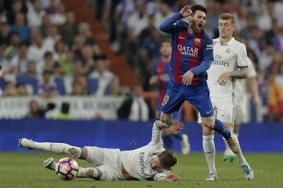 موعد وتوقيت مباراة ريال مدريد وبرشلونة الكلاسيكو اليوم الجمعة 28-7-2017 والقنوات المجانية الناقلة