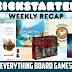 Kickstarter Recap - October 19, 2018