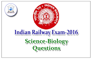 Railway Exam GK Quiz (Science - Biology)