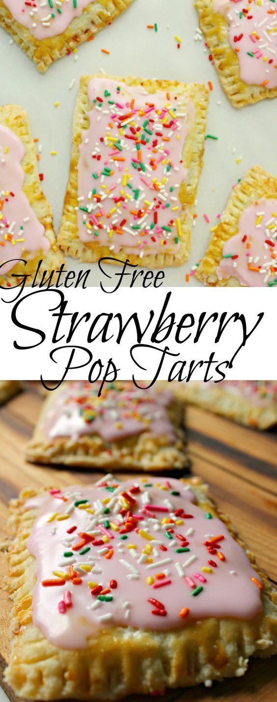 GLUTEN FREE STRAWBERRY POP TARTS