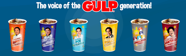 Pick your gulp. Pick your cup. Pick your President.