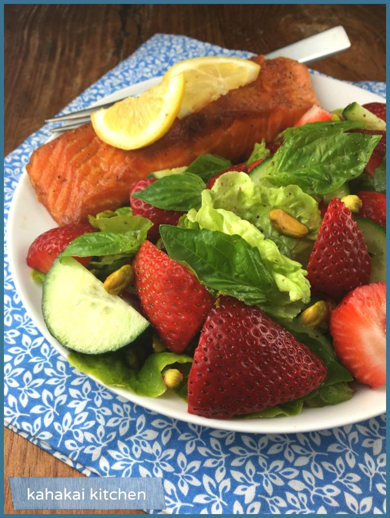 Wild King Salmon Basil S Kitchen