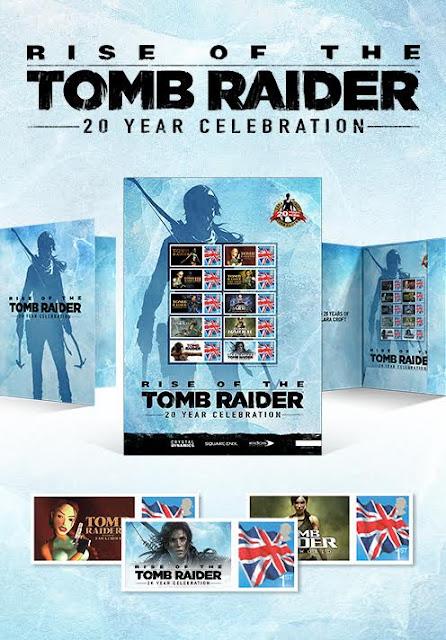 Echa un vistazo a estos sellos de edición limitada para la celebración del veinte aniversario de Tomb Raider