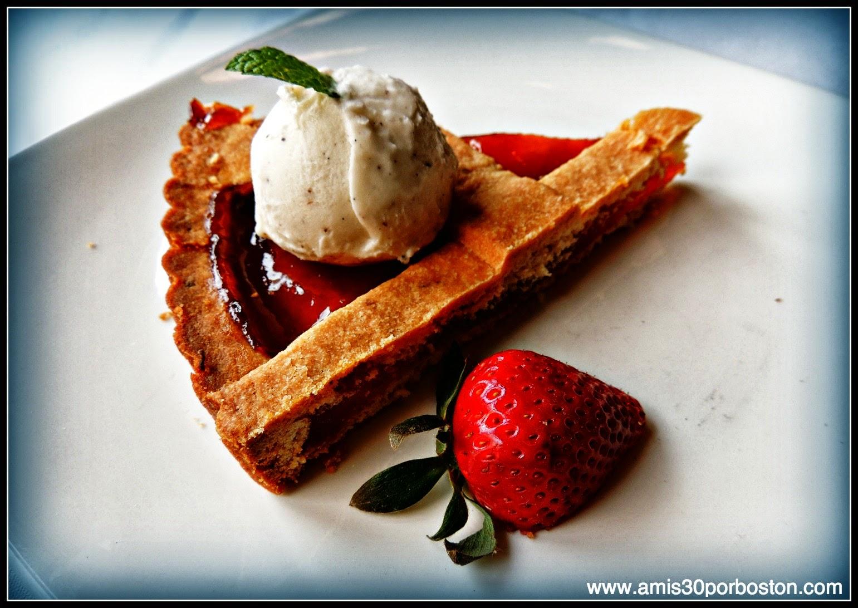 Crostata Di Albicocca Homemade Apricot Tart - Vanilla Gelato